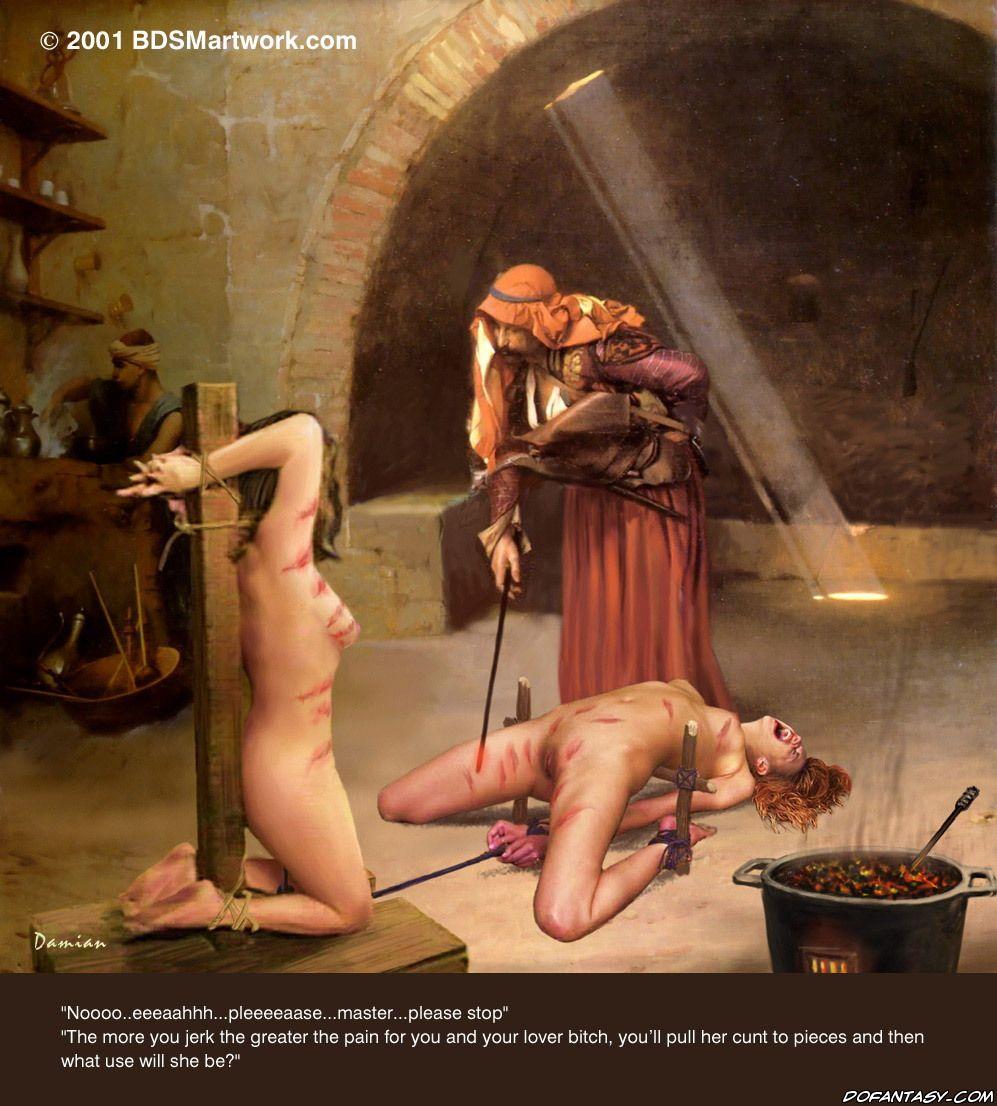 Пытки клизмой для рабыни 1 фотография