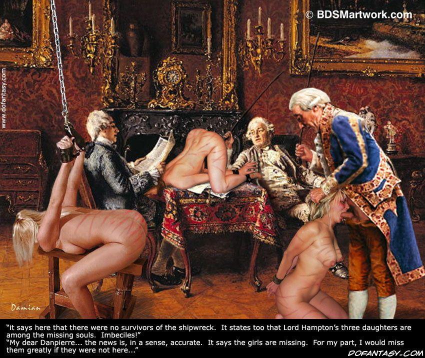 bdsm slave art